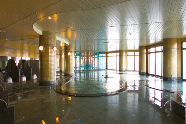 江ノ島アイランドスパの「富士海湯」