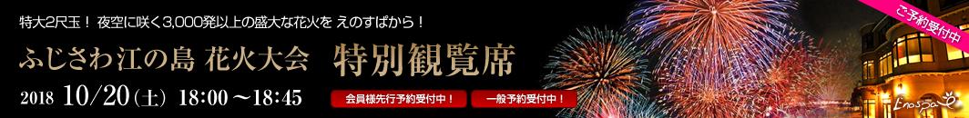 ふじさわ江の島花火大会 特別観覧席