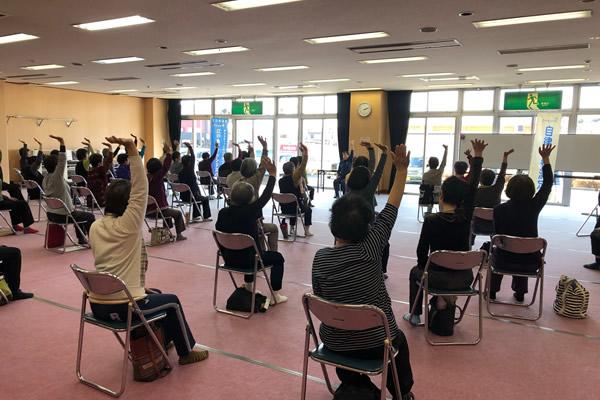 冬の健康づくり講座(寒川町健康管理センター)
