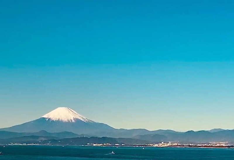 富士山 江ノ島