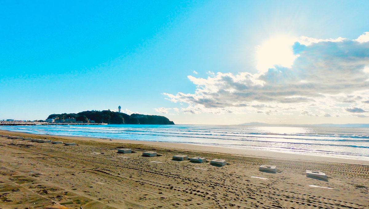 江ノ島 片瀬海岸