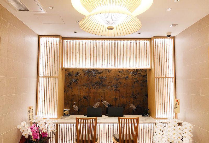 江の島ホテル レセプション