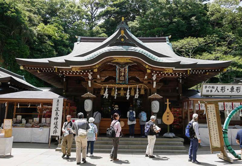 えのすぱのある生活 江島神社