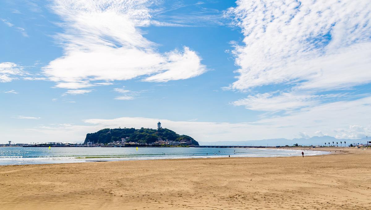 江の島 ビーチ