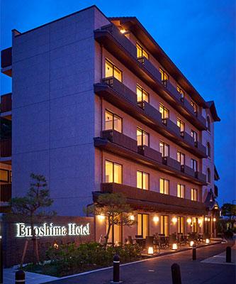 江の島ホテル外観