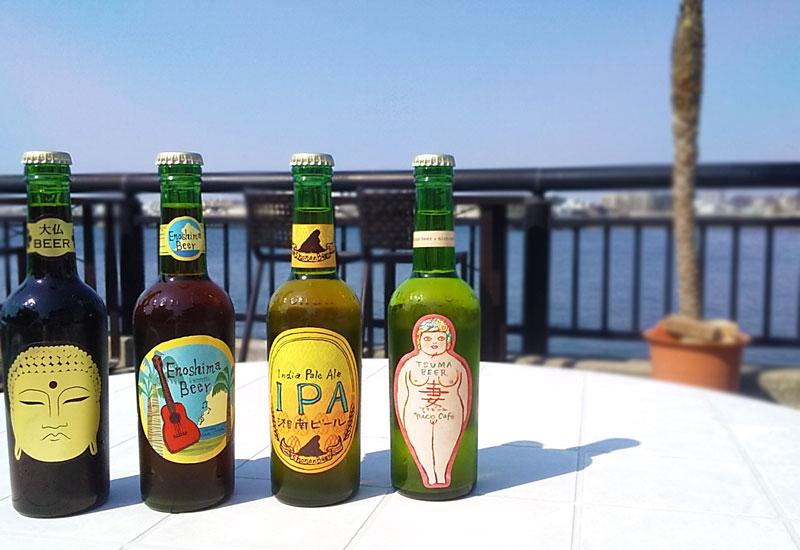 江の島カフェ 湘南ビール