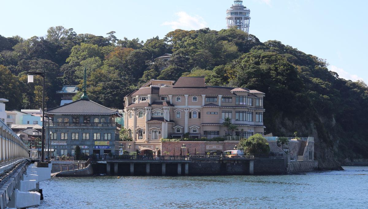えのすぱ外観 江ノ島