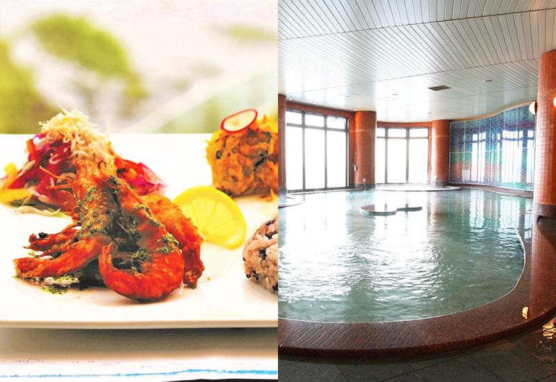 富士山の見える江の島天然温泉プラン 食事付セットプラン