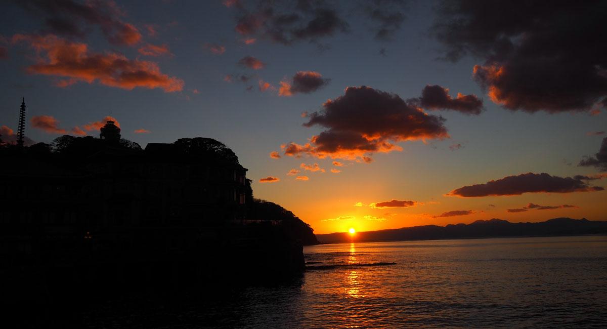 江ノ島 サンセット